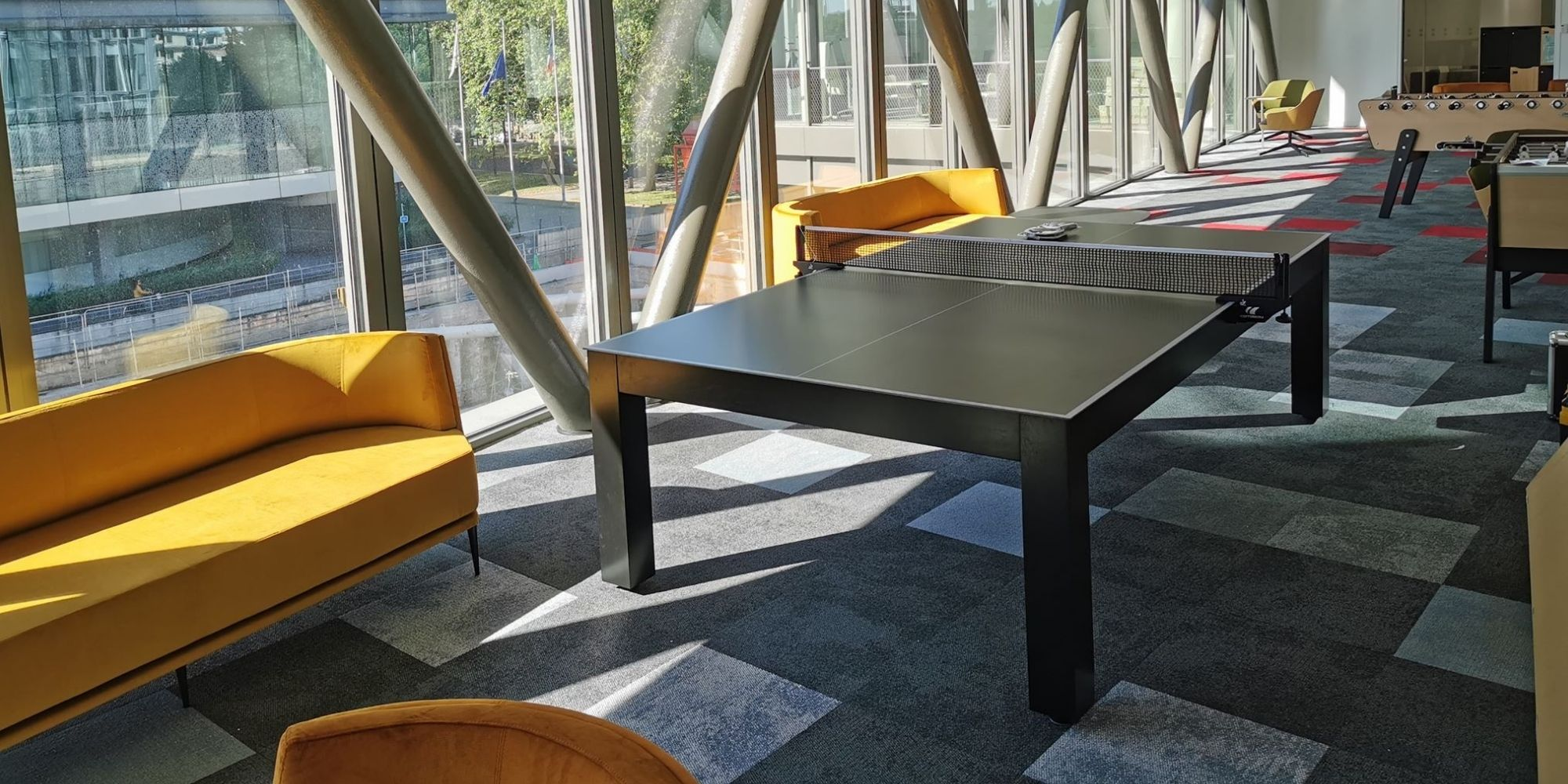 Table de ping-pong design Pearl - Chill out With Toulet
